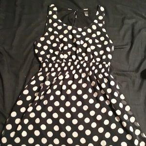 LG Forever 21 Sleveless Polka Dot Dress